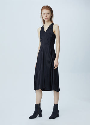 Load image into Gallery viewer, Sexy waist midi dress
