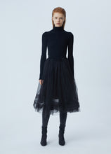 Load image into Gallery viewer, Sweater and Veil Skirt Stitched Dress