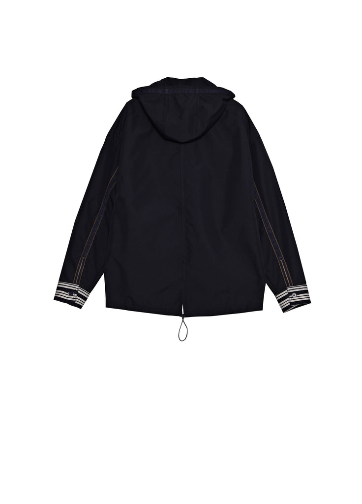 Fabric stitched hoodie
