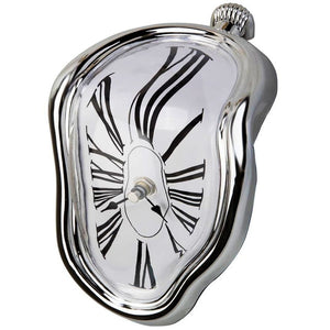 Melting Surrealist Shelf Clock