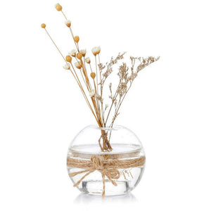 Mini Glass Sphere Vases for Candles or Flowers