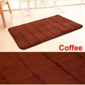 Water Absorbing Non-Slip Bathroom Mat