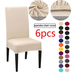 Solid Color Chair Covers