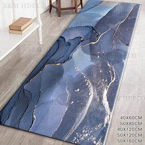 Galaxy Marble Anti-Skid Area Rug