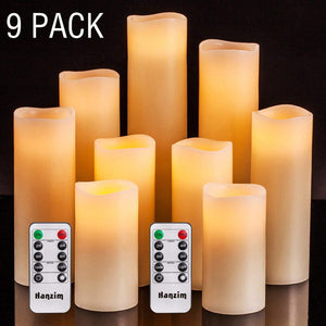 Ambiance Flameless Faux Candle Set with Remote