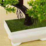 Perfect Size Artificial Potted Bonsai Pine Tree