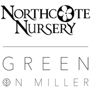 Northcote Nursery Logo and Green on Miller logo