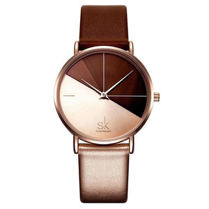 Stylish Fashion Leather Wrist Watch