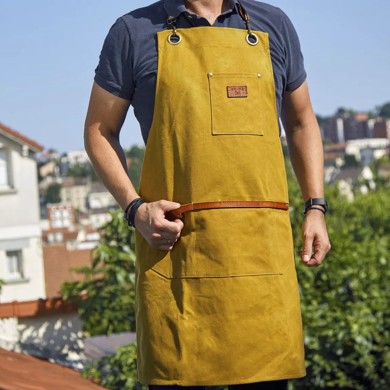 Tablier de barbecue PrimeCuts - Moutarde