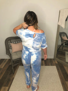 On Cloud Nine Tie Dye Jumpsuit