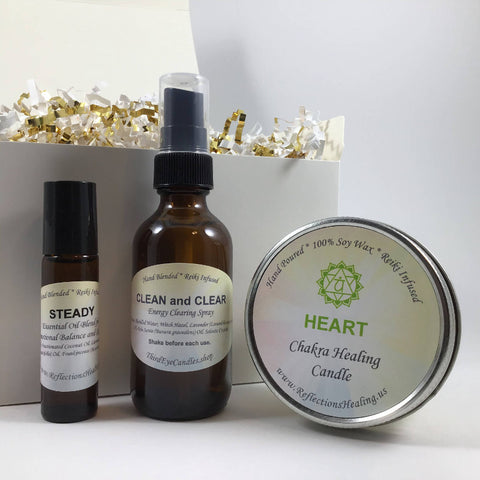 Crystal Clear Energy Healing Gift Bundle