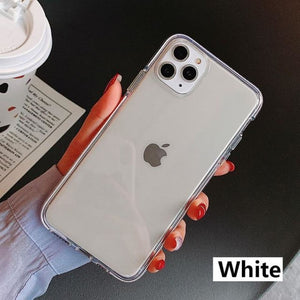 Iphone Transparent Silicone Cover - For iphone 11Pro Max /