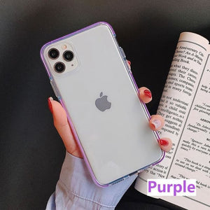 Iphone Transparent Silicone Cover - For iphone 8 plus /