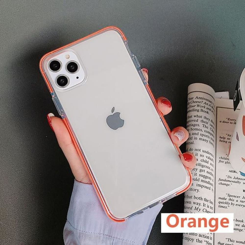 Iphone Transparent Silicone Cover - For iphone se 2020 /