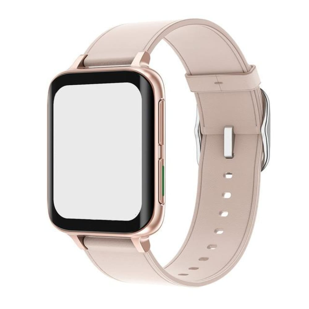 Mobteck-DT93 Curved Display Smartwatch with GPS - beige
