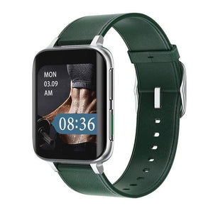 Mobteck-DT93 Curved Display Smartwatch with GPS - green