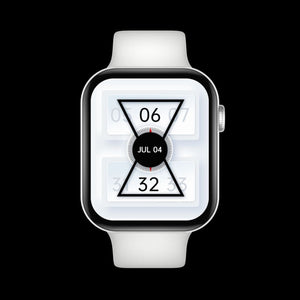 Mobteck OG-78 HD Display Smartwatch with GPS - silica white