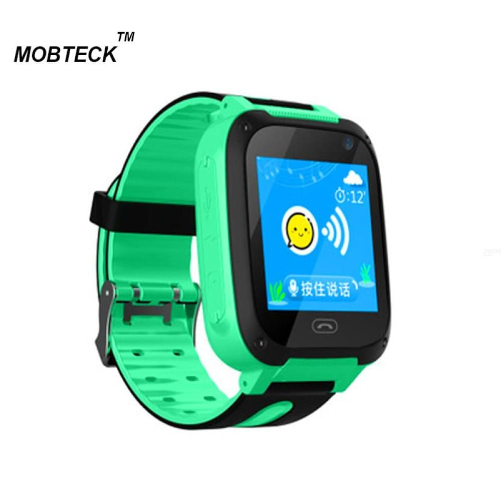 Mobteck -Q9 Smart Watch kids with 2G SIM card dial Call Anti