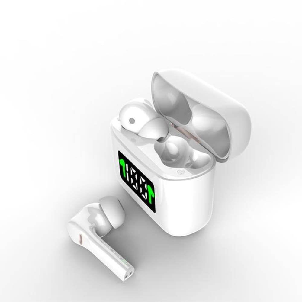 MT-New J5 TWS Wireless Earbuds - white - earbuds MobTeck
