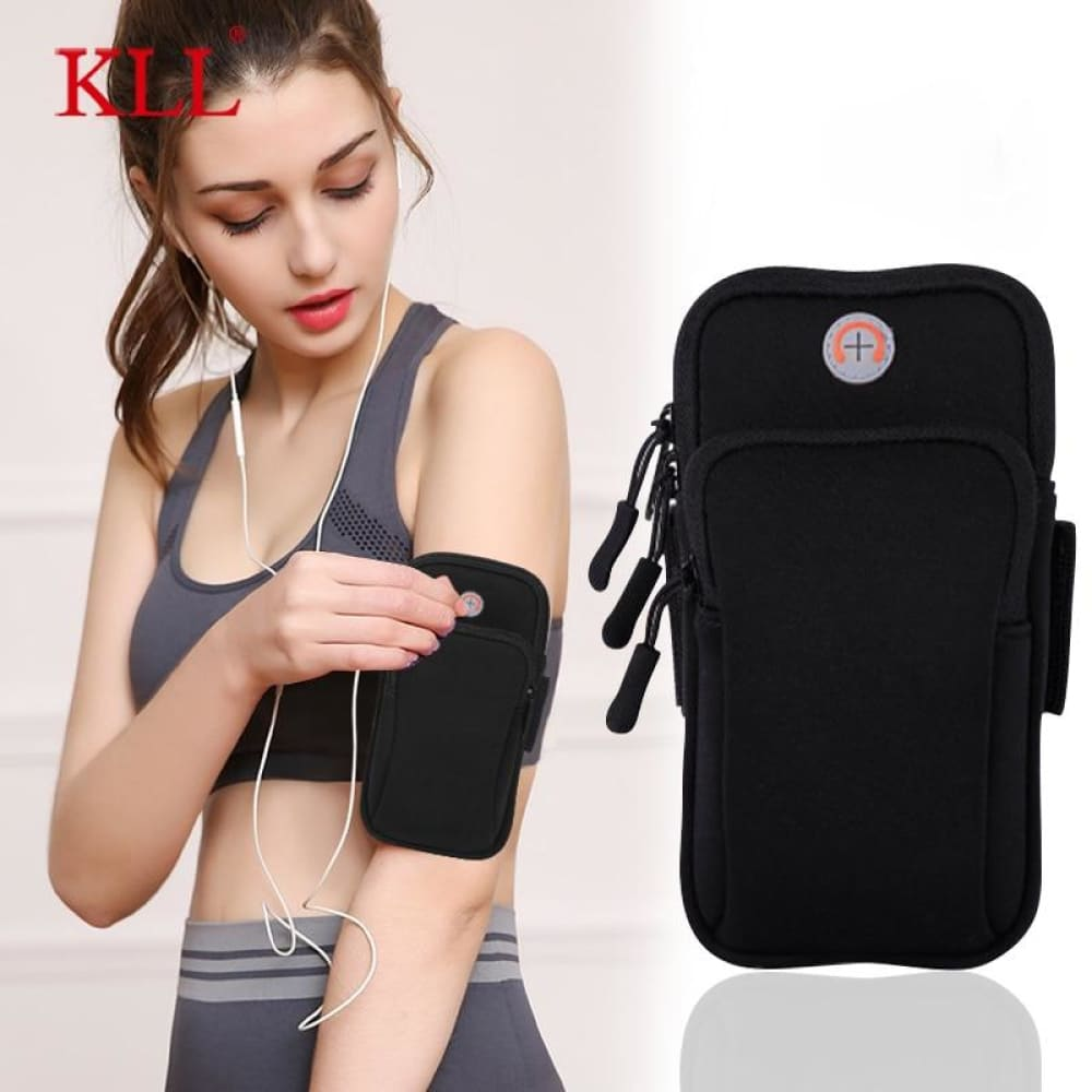 MT-Orginal Waterproof Jogging Arm mobile Holder - Gym band