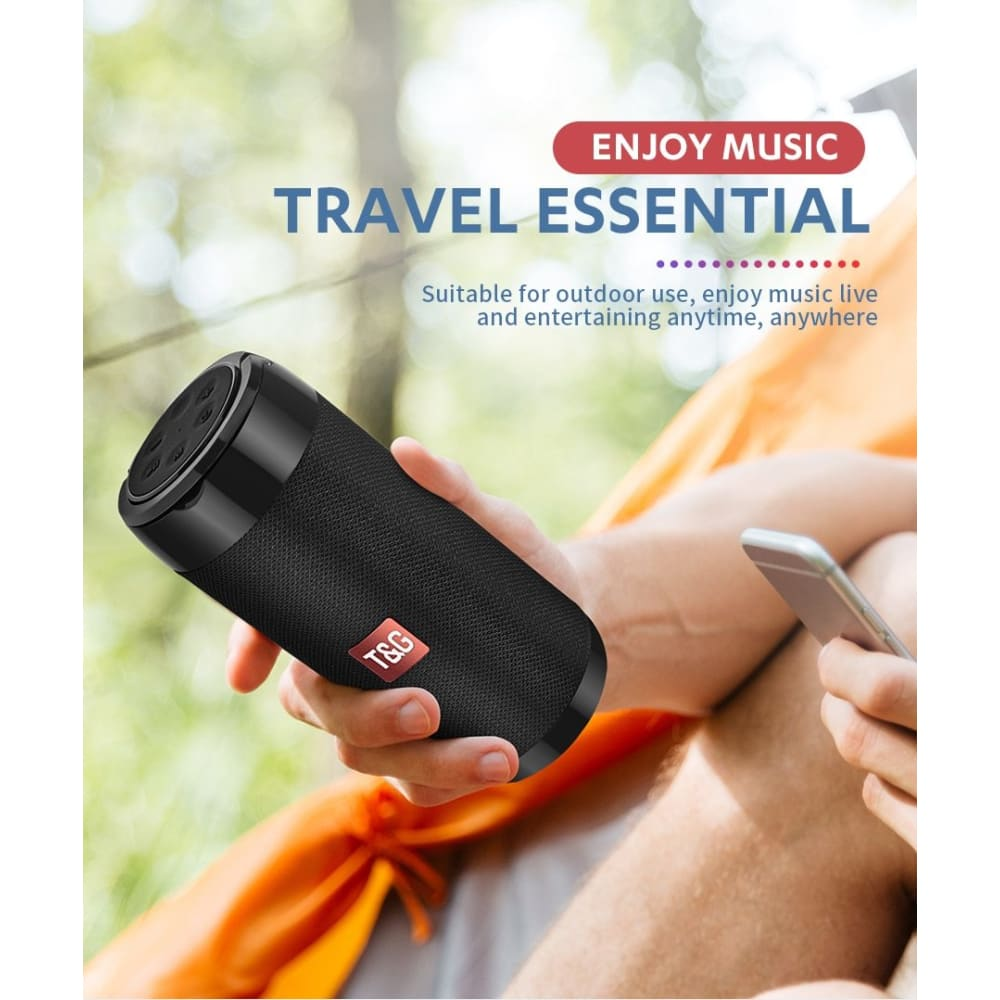 ORGINAL-TG11 PORTABLE MINI SPEAKER BLUETOOTH - MobTeck