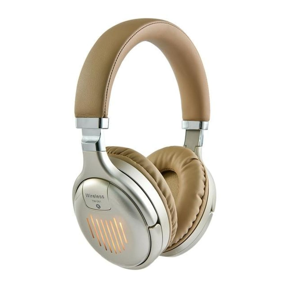 Original TM-61 Foldable Gaming Headphones With Mic - Gold /