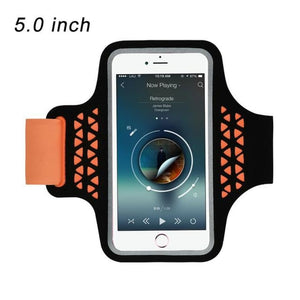 Running Bags Sport Armbands For iPhone - 92 Orange - Gym Arm