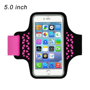 Running Bags Sport Armbands For iPhone - 92 Rose Red - Gym