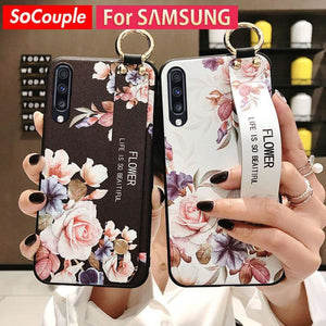 Samsung Flower Design Phone Cover - MobTeck accessories