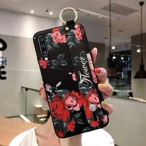 Samsung Flower Design Phone Cover - For Note 10 plus /