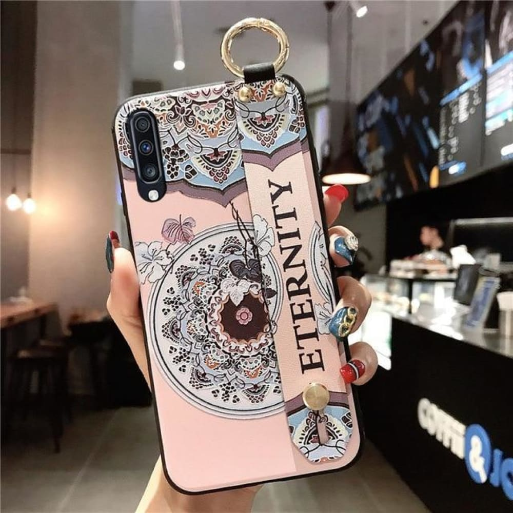 Samsung Flower Design Phone Cover - For Note 9 /