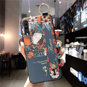 Samsung Flower Design Phone Cover - For S10 /