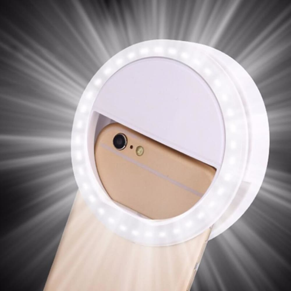 TIKTOK Selfie LED Light Portable Ring - accessories MobTeck
