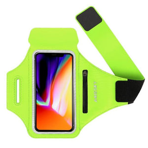 Universal Waterproof Phone Arm Band - Green - Gym band