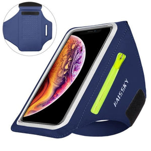 Universal Waterproof Phone Arm Band - Upgrade Dark Blue -