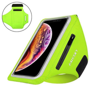 Universal Waterproof Phone Arm Band - Upgrade Green - Gym