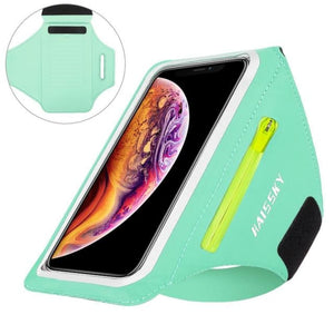 Universal Waterproof Phone Arm Band - Upgrade Light Green -