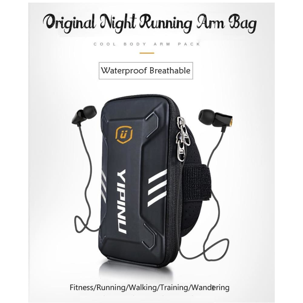 Waterproof Unisex Reflective Running Arm Bag - Gym band