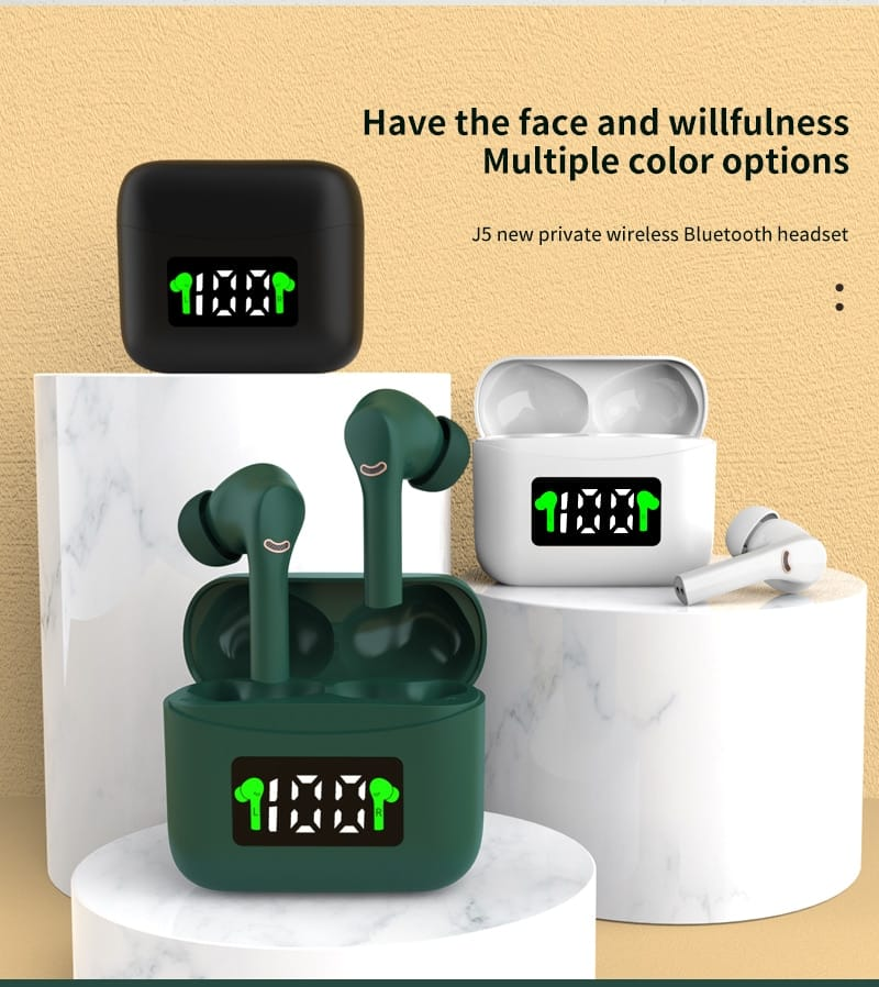 MT-New J5 TWS Wireless Earbuds