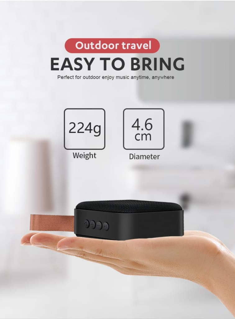 ORGINAL PORTABLE BLUETOOTH SPEAKER 3D SURROUNDED SOUND