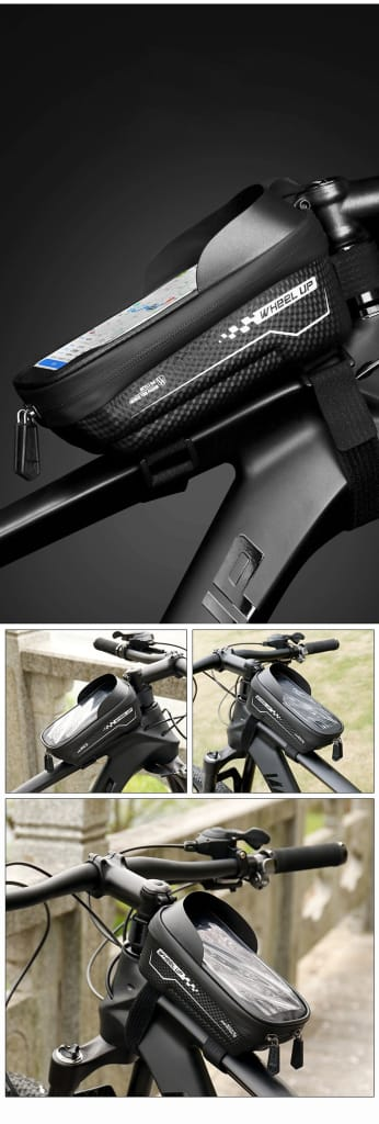 Waterproof Tube Cycling Bags with Phone Protector Case