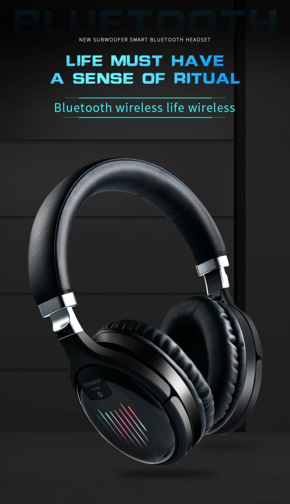 Original TM-61 Foldable Gaming Headphones With Mic