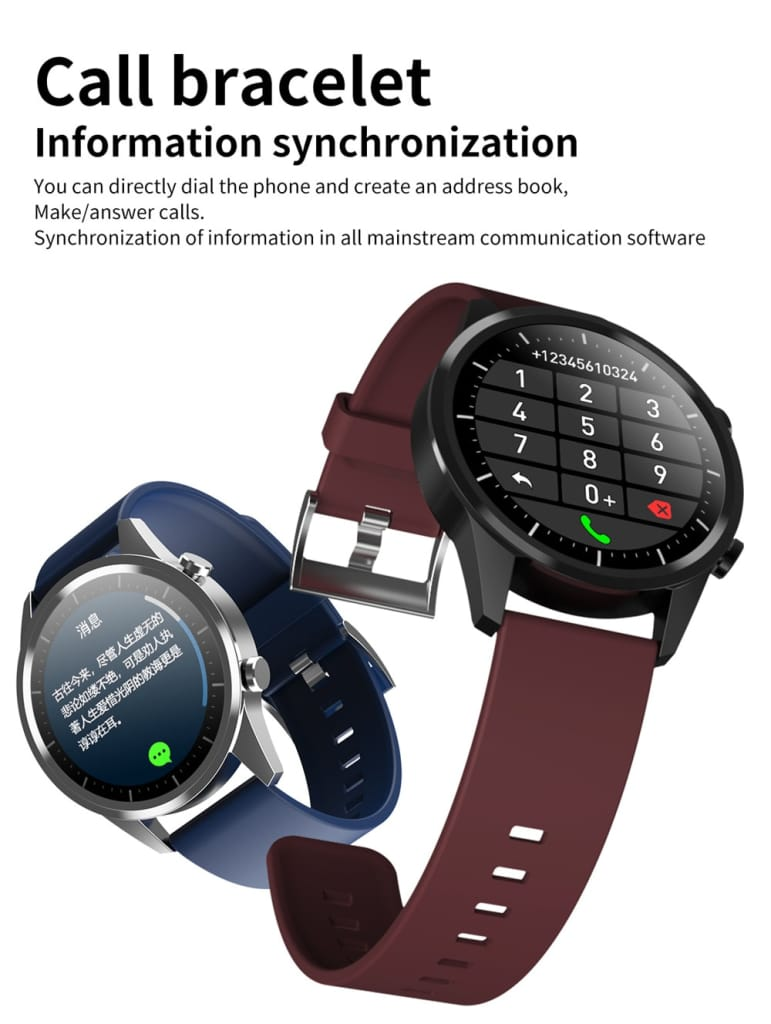 Mobteck-F35 Smart Watch with Bluetooth call