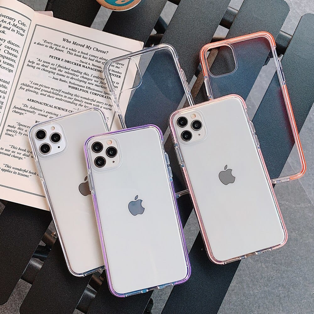 Iphone Transparent Silicone Cover