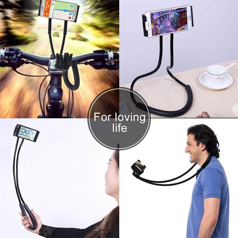 Neck Phone Holder Stand for Universal Cell