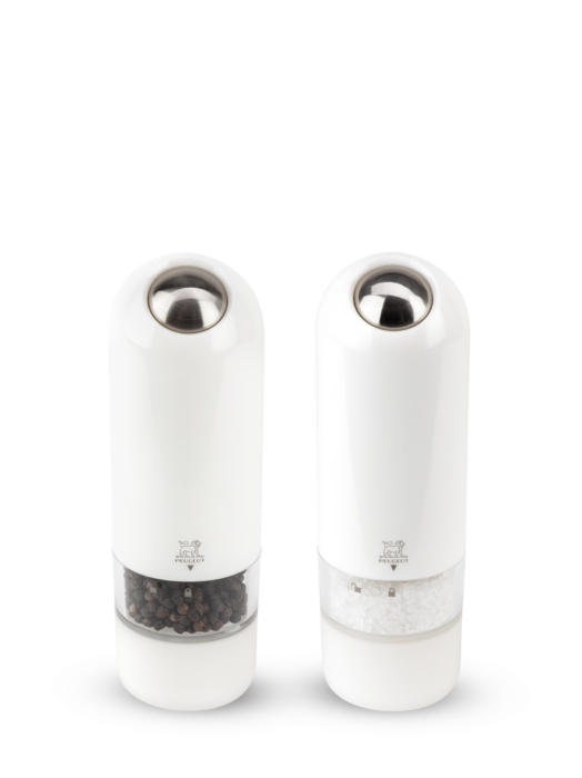 Peugeot Alaska Duo Salt Mill & Pepper Mill Set in White 17cm