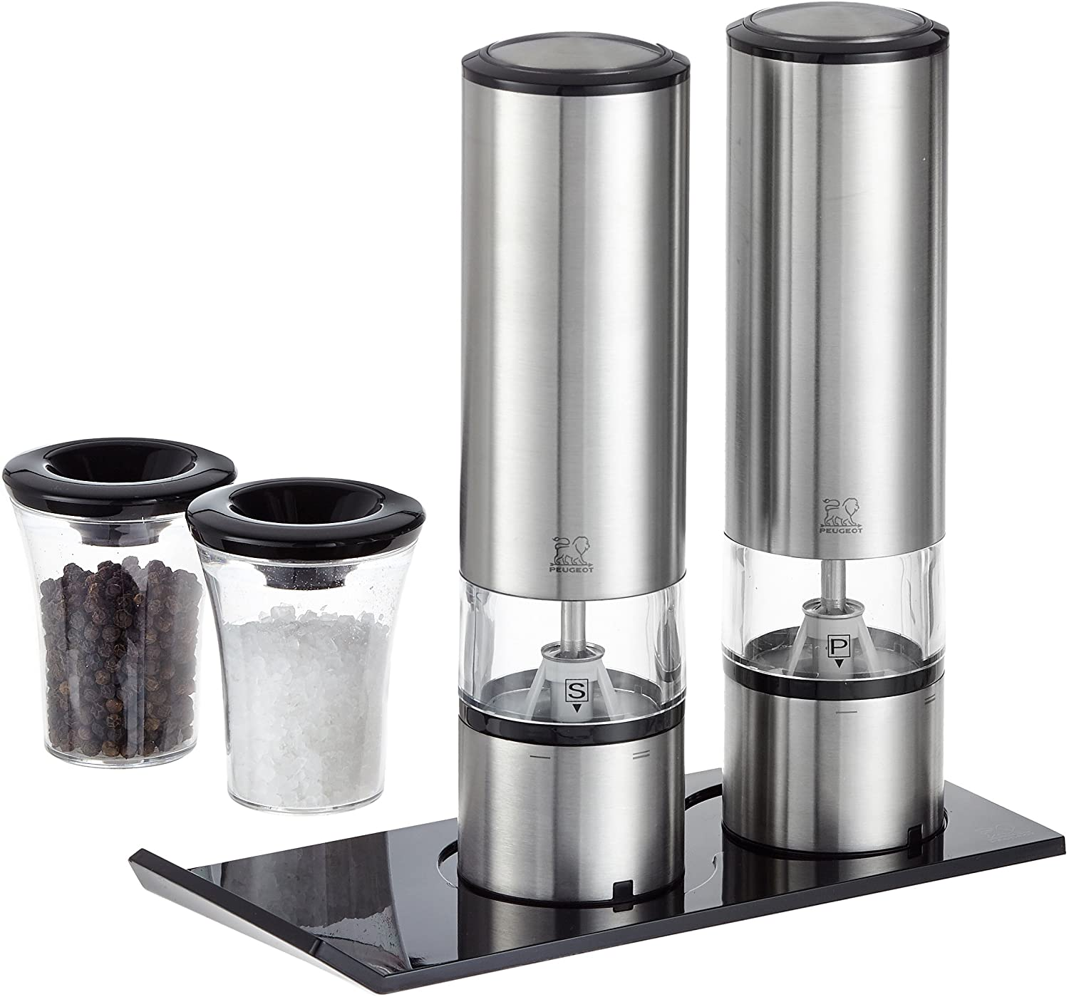 Peugeot Elis Sense Duo Electric Salt Mill & Pepper Mill Set 20cm