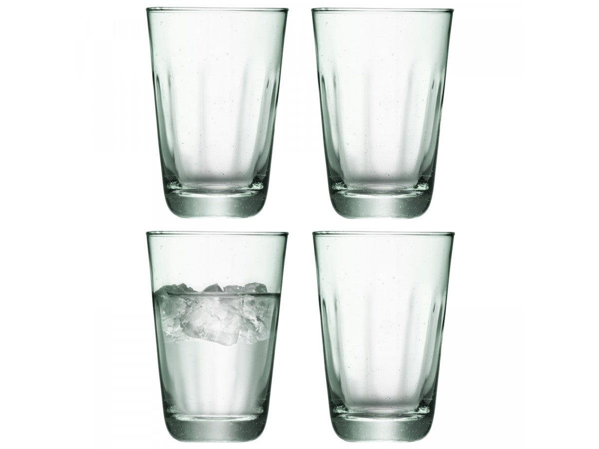 LSA Mia Highball 350ml Set of 4 Glasses Gift Boxed