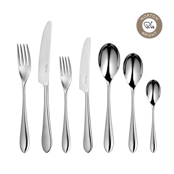Robert Welch Norton Bright 84 Piece Cutlery Sets for 12 People