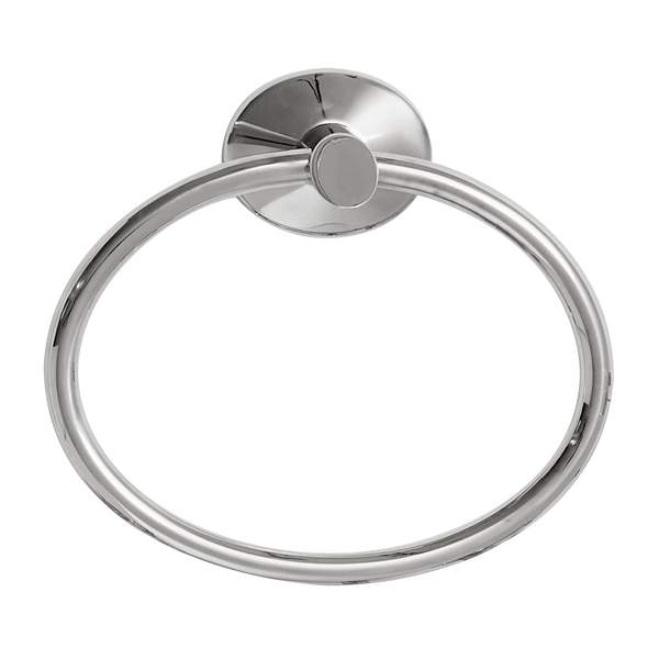 Robert Welch Towel Ring from the Bathroom Accessories Oblique Range